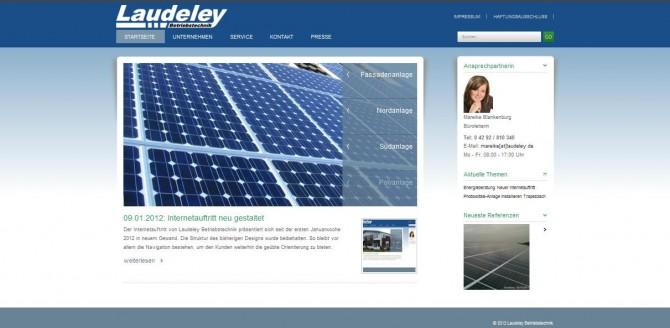 09.01.2012: Internetauftritt neu gestaltet