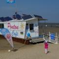 16.05.2014: Cuxhavener Ponton Cafe erhält Inselanlage von e.cube systems