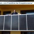 """26.03.2012: Laudeleys """"Balkon-Kraftwerk"""" ab sofort mit integriertem Wechselrichter"""