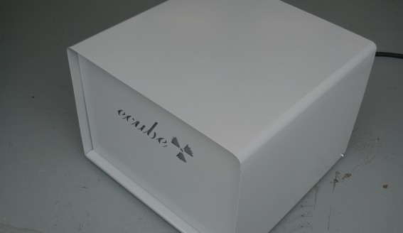 30.06.2014: e.cube stellt Stromspeicherwürfel vor