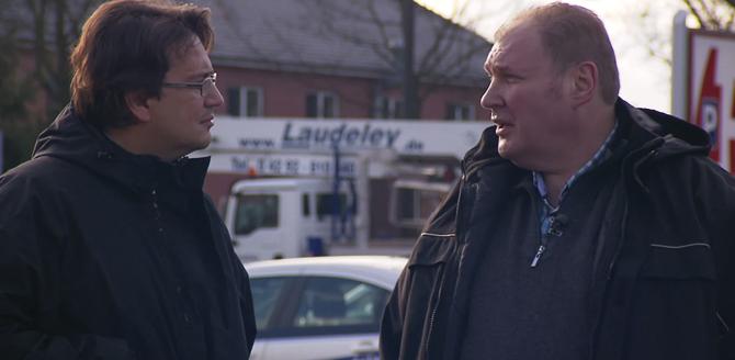 Dipl.-Ing. Holger Laudeley im Kinofilm