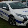 24.04.2012: Laudeley fährt kostenfrei Auto, mit dem Opel Ampera